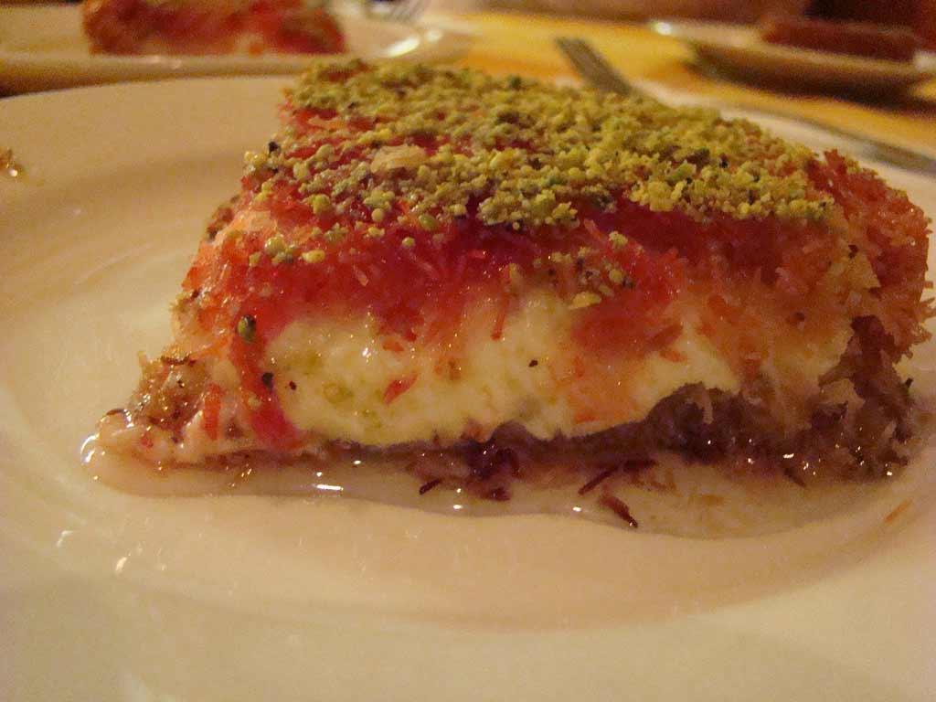 Knafeh dolce giordano