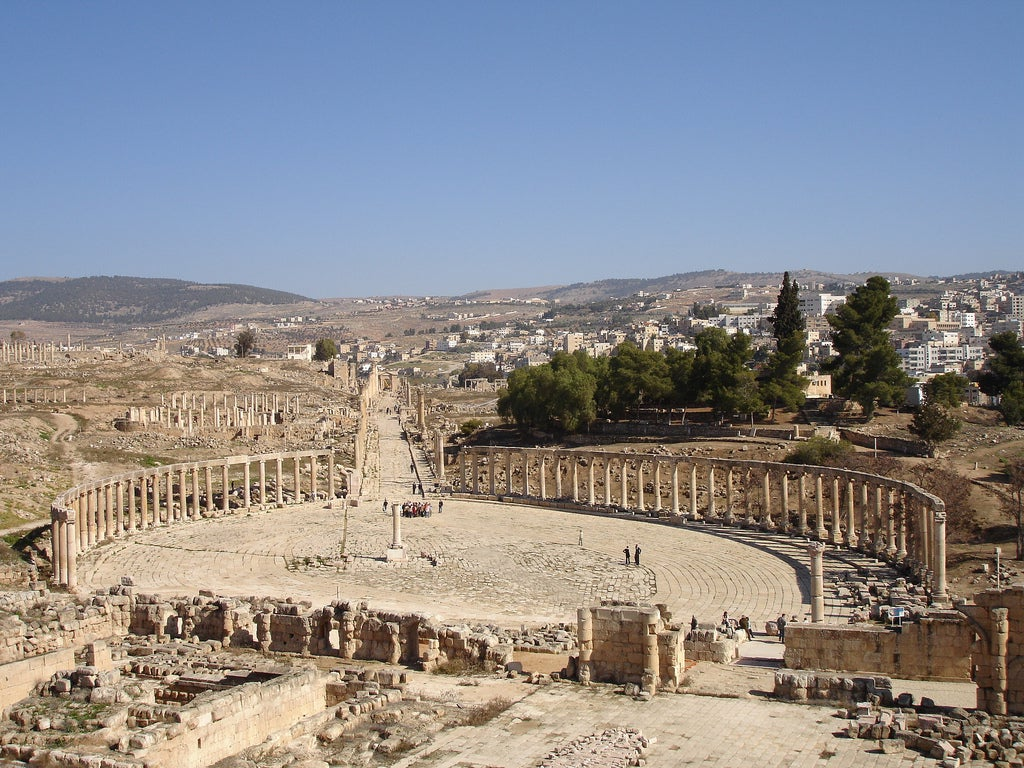 Jerash Jordânia