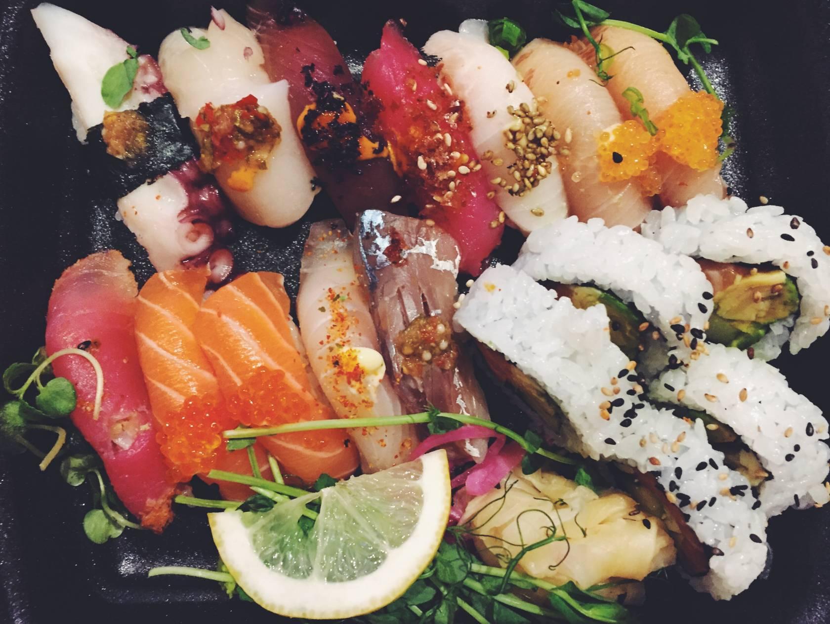 sushi di Akki Sushi Stoccolma