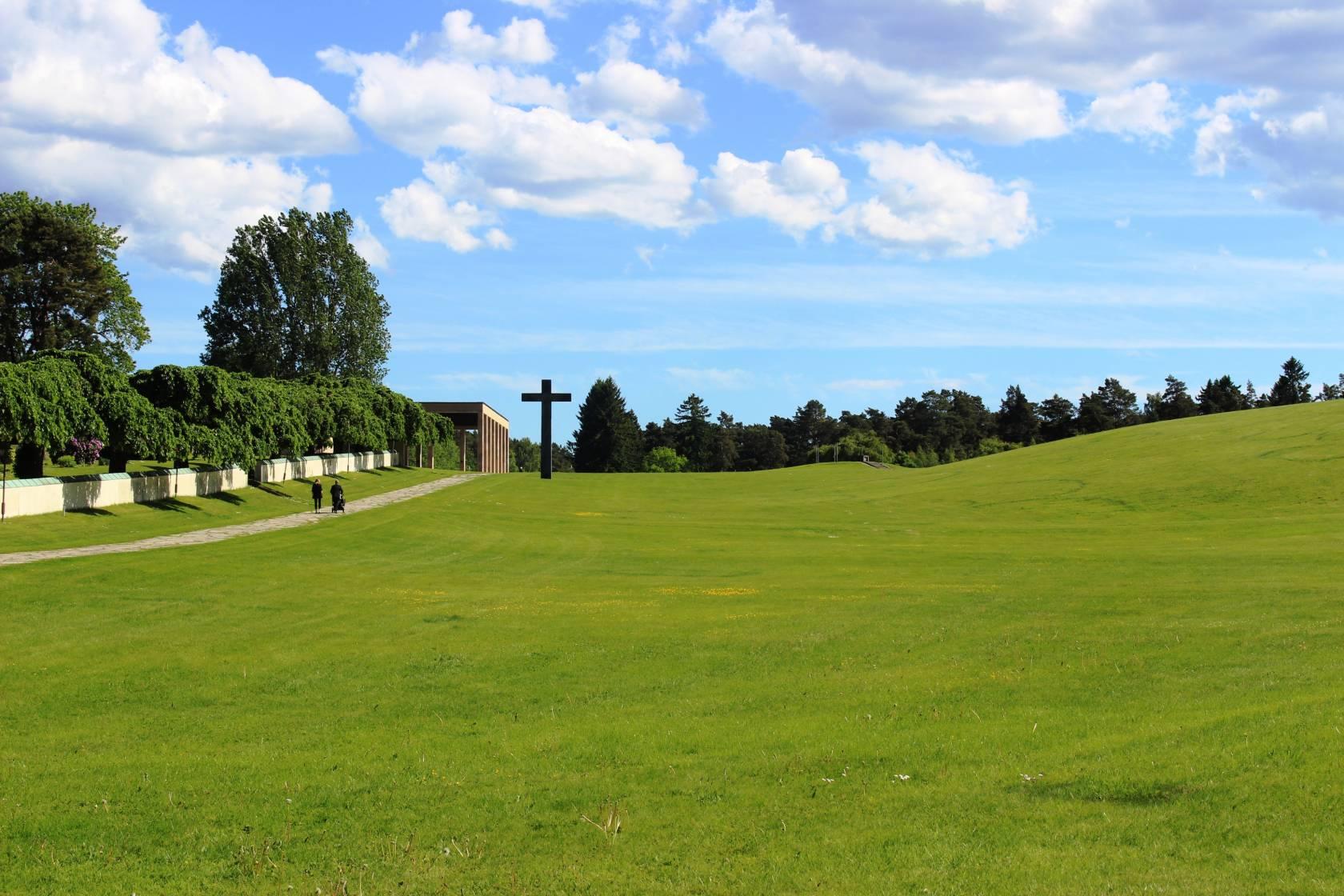 Cimiteo Skogskyrkogarden Stoccolma