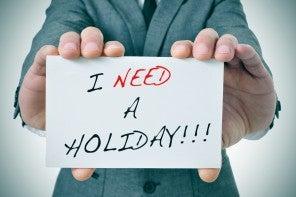 Capisci di avere bisogno delle vacanze quando…