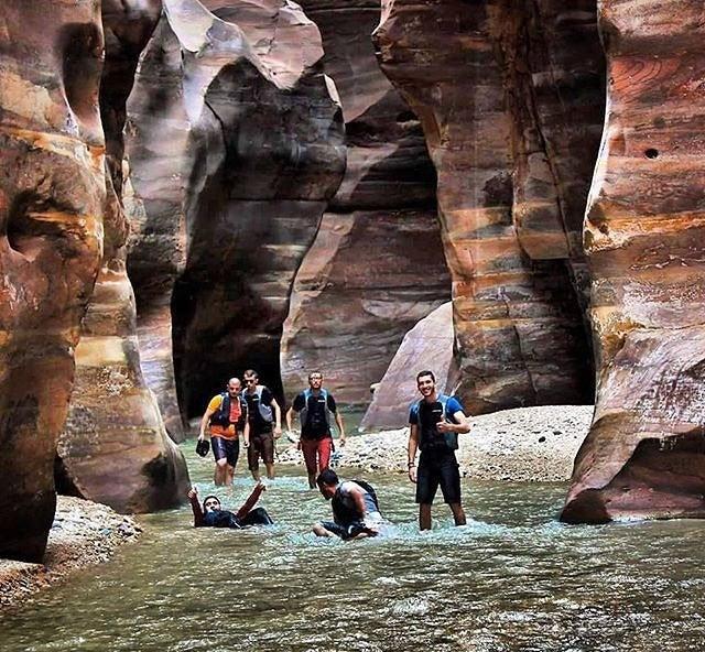 wadi mujib giordania