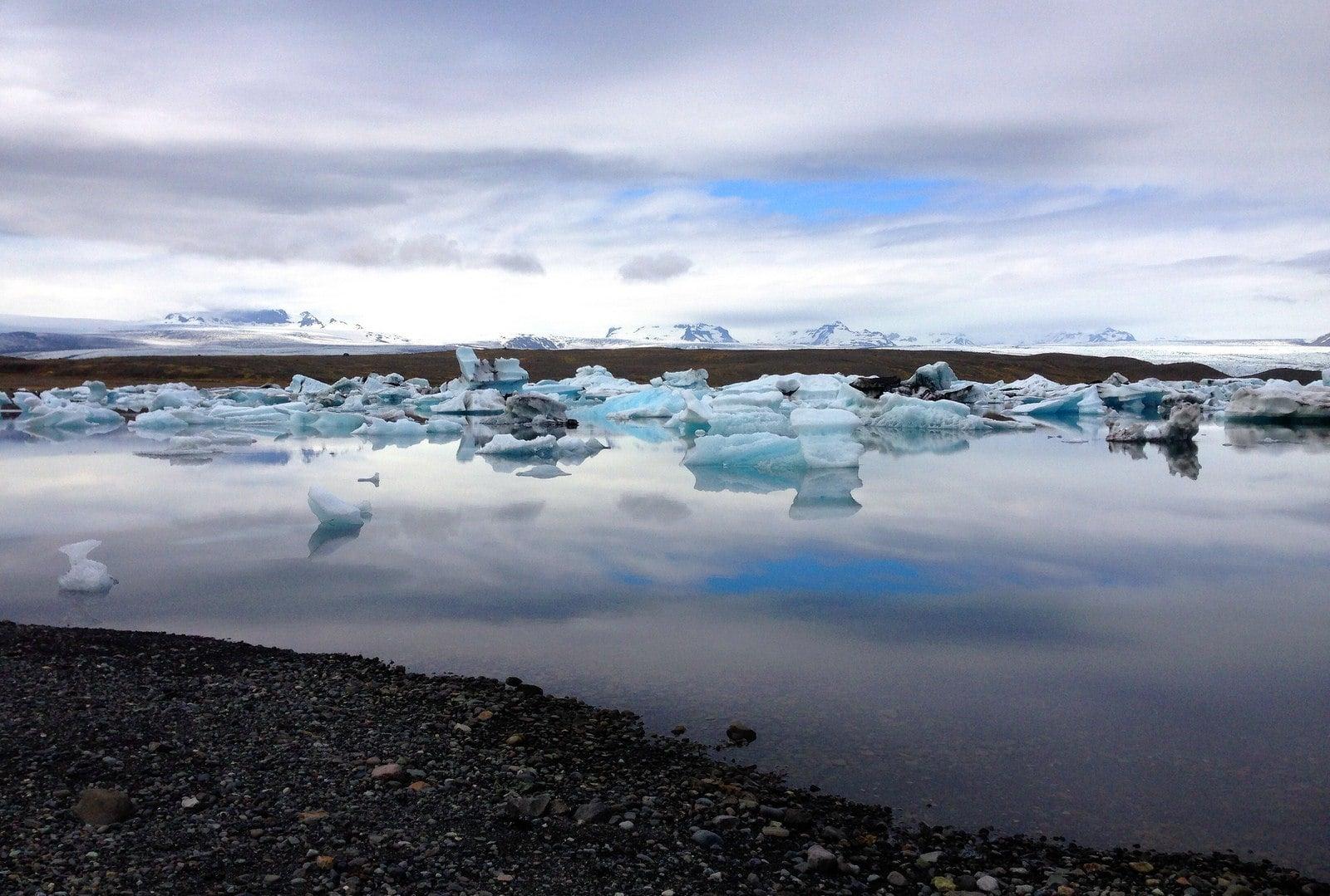 Jökulsárlón islândia