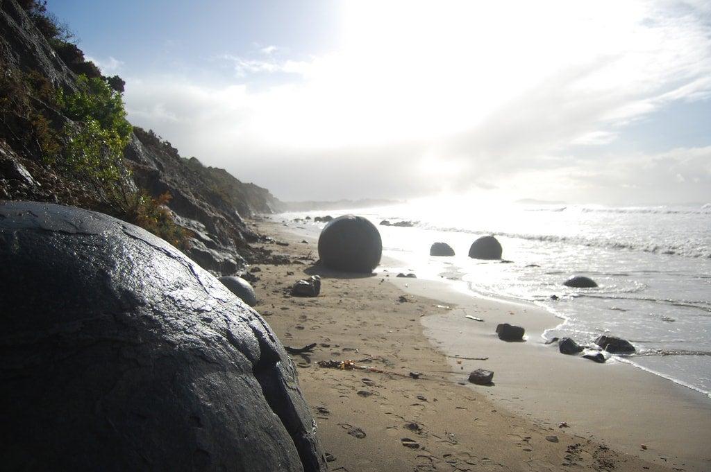 Koekohe Beach Nuova Zelanda