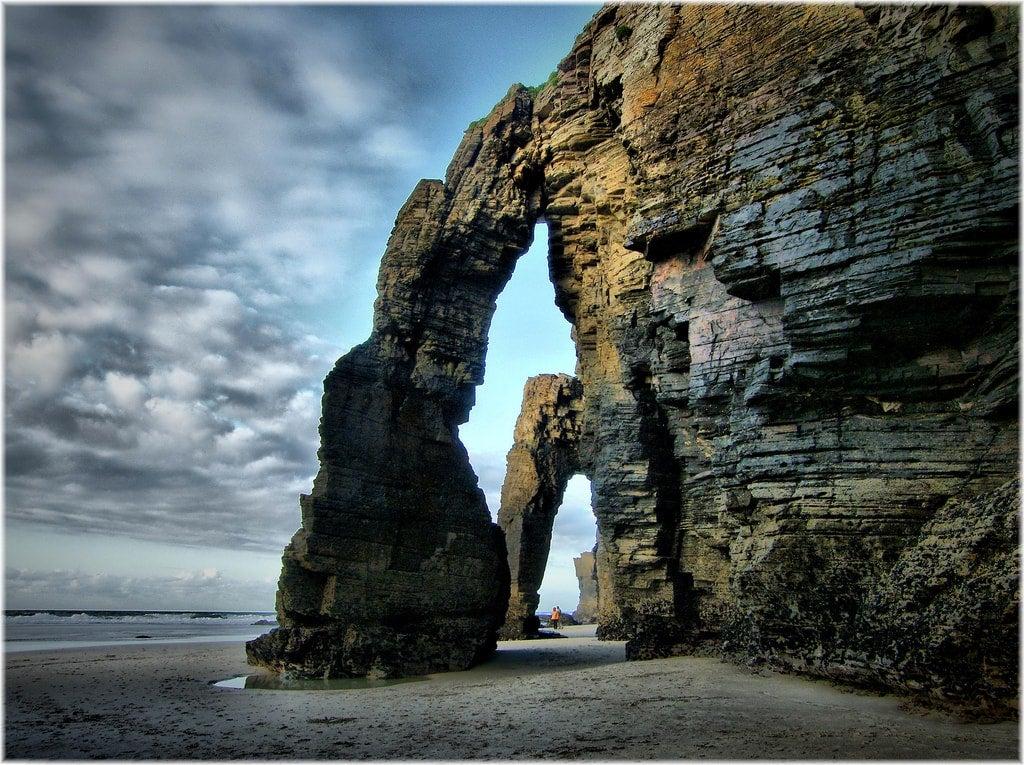 spiaggia delle cattedrali ribadeo