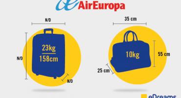 Bagaglio a mano e da stiva Air Europa: le regole da seguire
