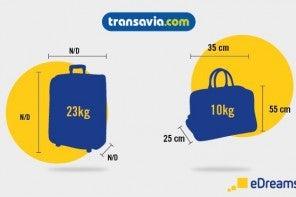 Il bagaglio con Transavia: le regole da seguire