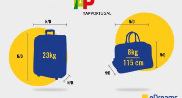 Regole da seguire per il bagaglio TAP Portugal