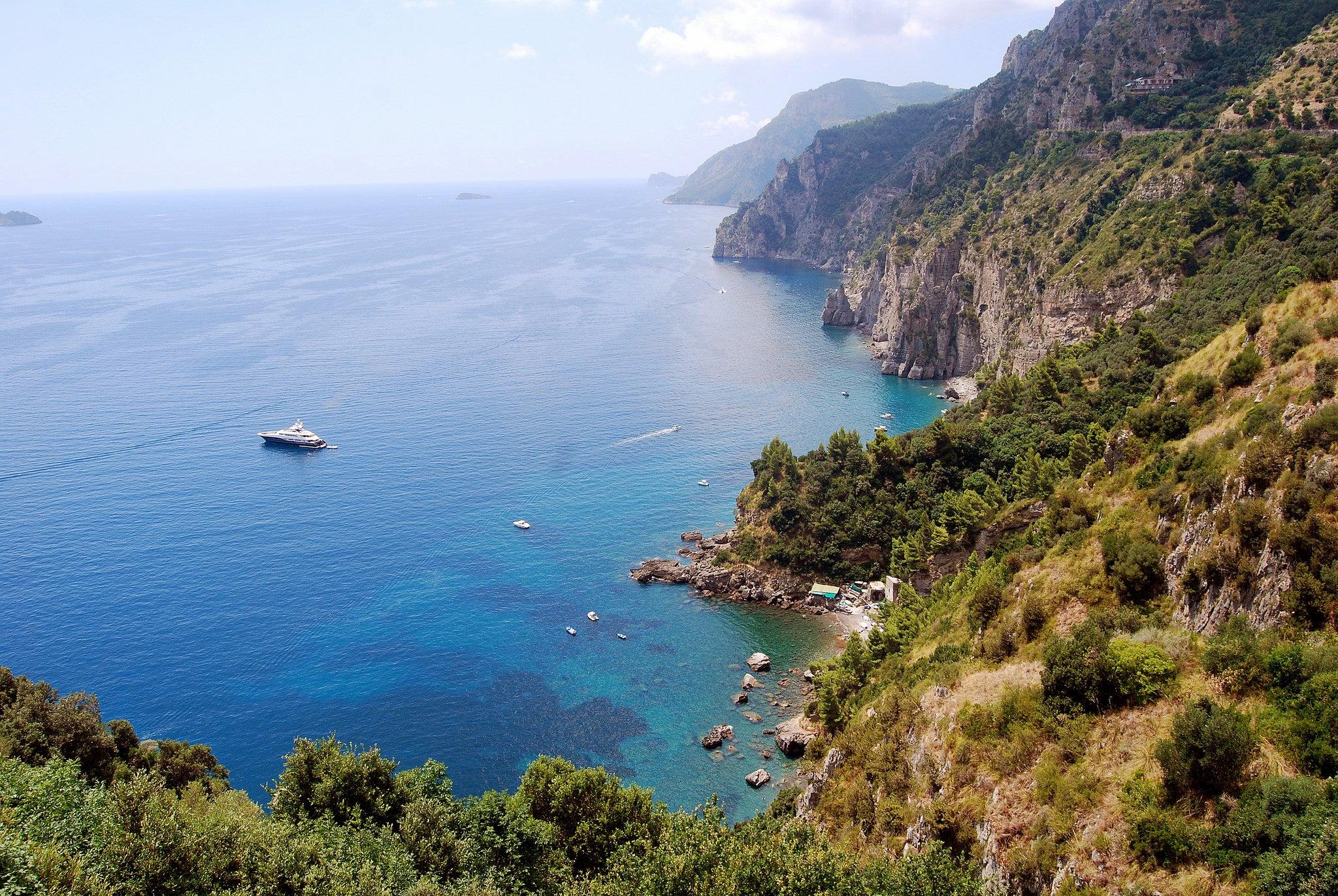 le migliori spiagge della costiera amalfitana