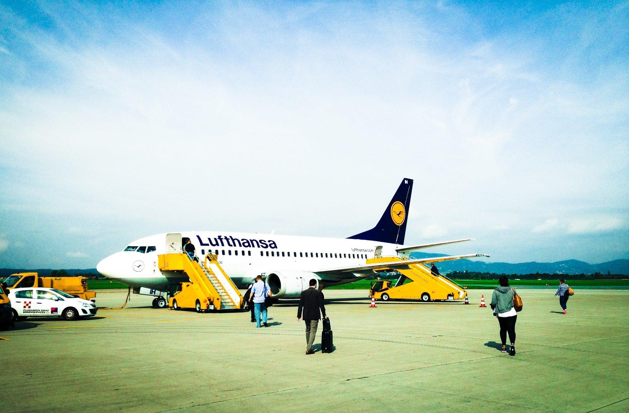 aereo lufthansa check in online edreams blog di viaggi
