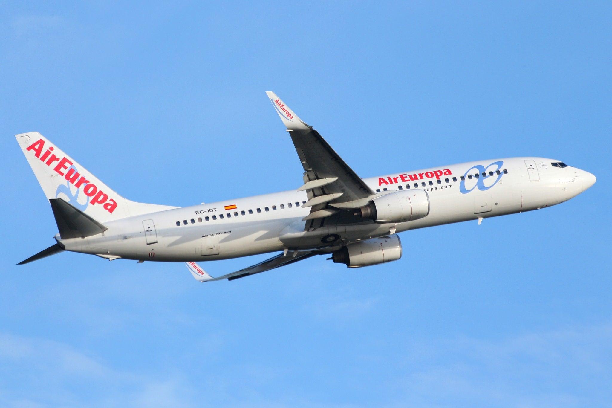 aereo air euopa check in online edreams blog di viaggi