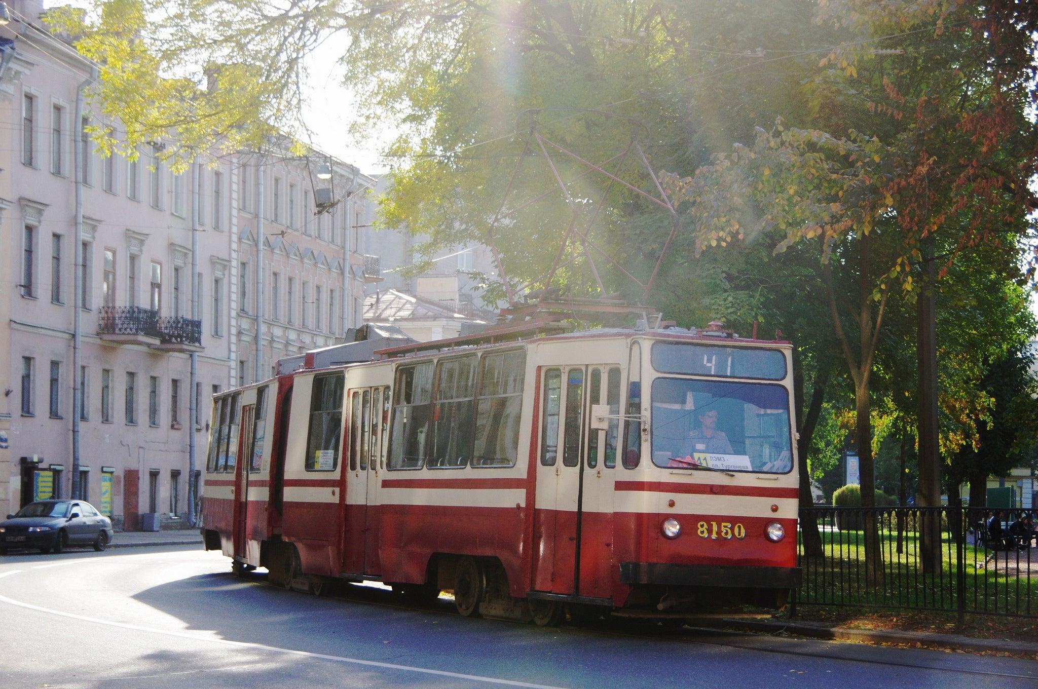 tram san pietroburgo