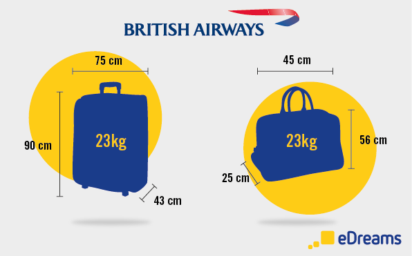 british airways bagaglio edreams blog viaggi