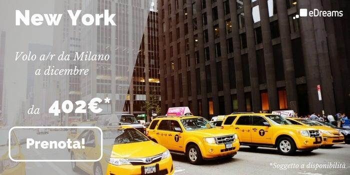 offerta volo New York