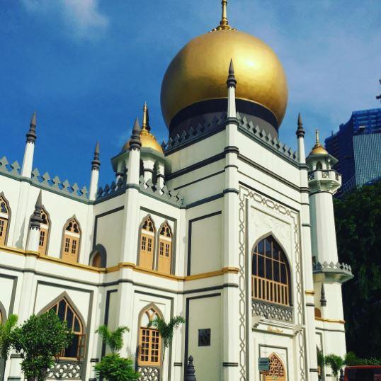 mezquita del sultan en singapur