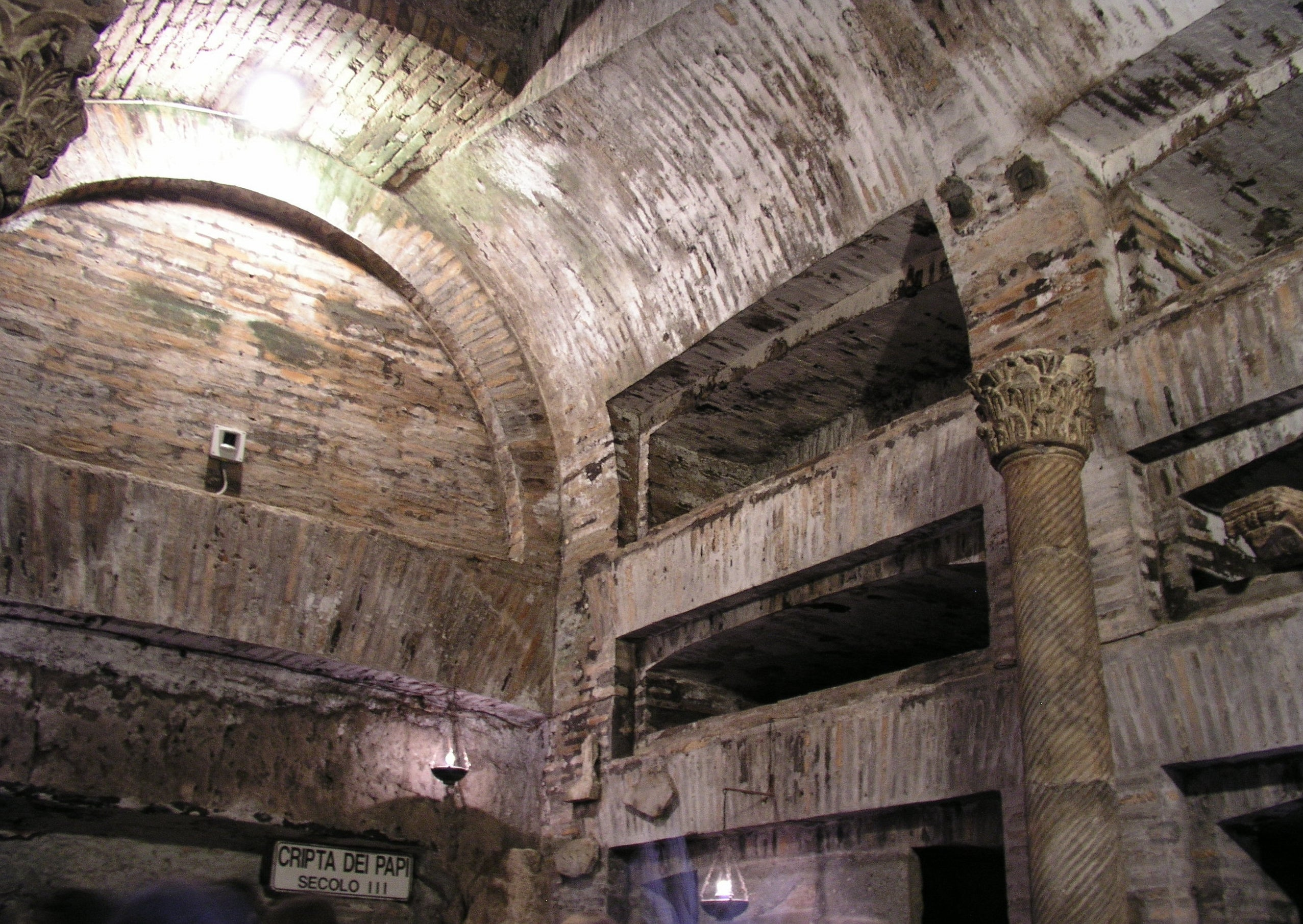 catacumbas de san callisto en roma