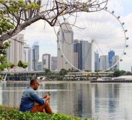 Ruota Panoramica singapore flyer