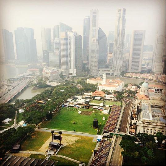 gran premio de singapur F1