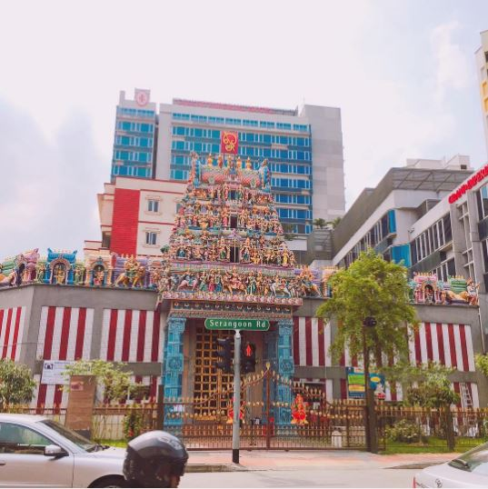 templo sri veeramakaliamman en singapur