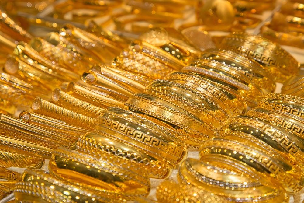 braccialetti oro Dubai
