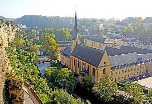 vistas desde Chemin de la Corniche, Luxemburgo