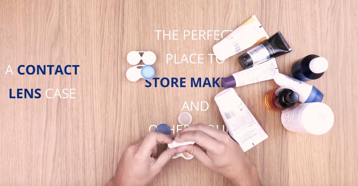 trucos de viajes eDreams - cajas de lentes de contacto