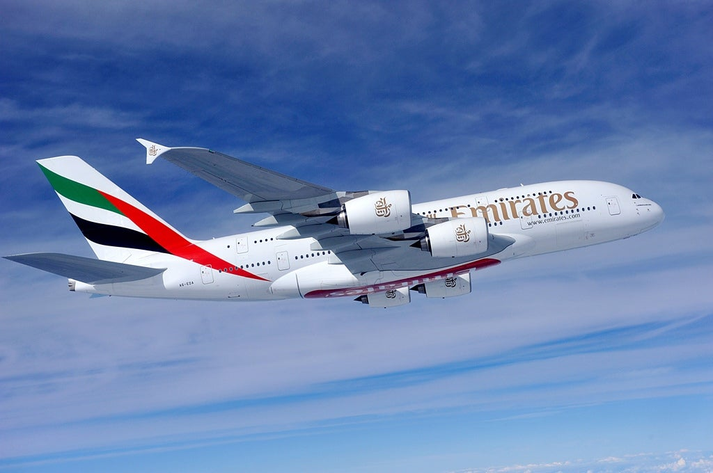 aeroplano emirates