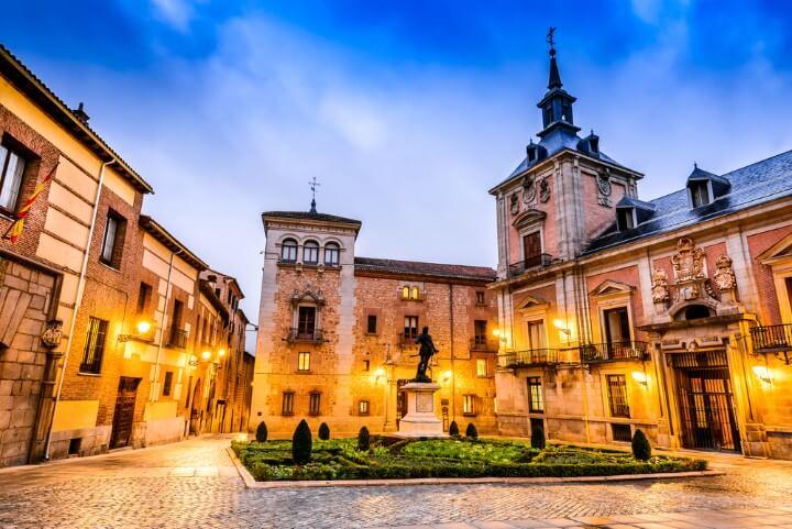 madrid piazza centro storico
