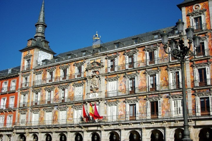 plaza mayor madrid edificio