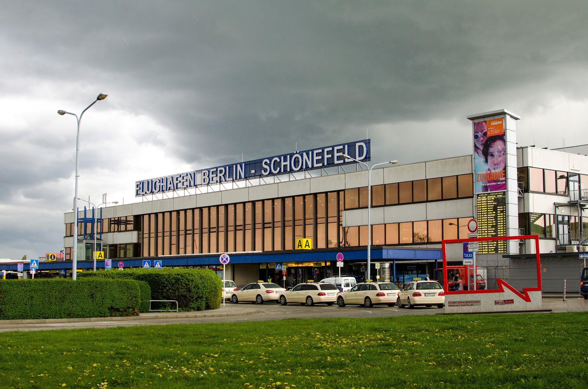 aeroporto berlino schonefeld
