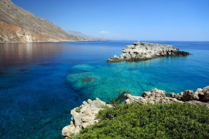 creta igliori spiagge greche