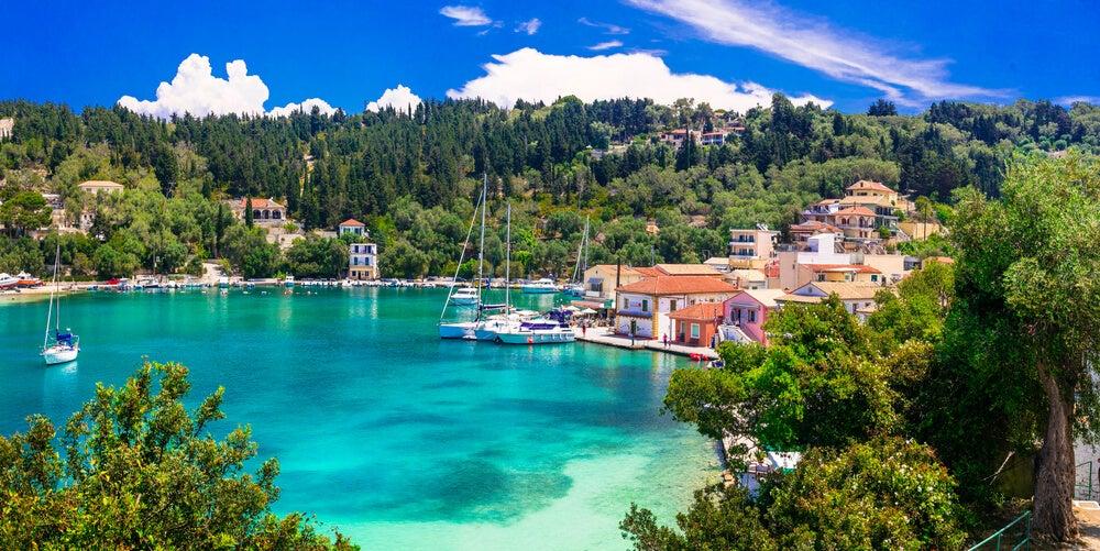 paxos isole greche baia