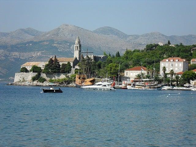 isole lopud croazia