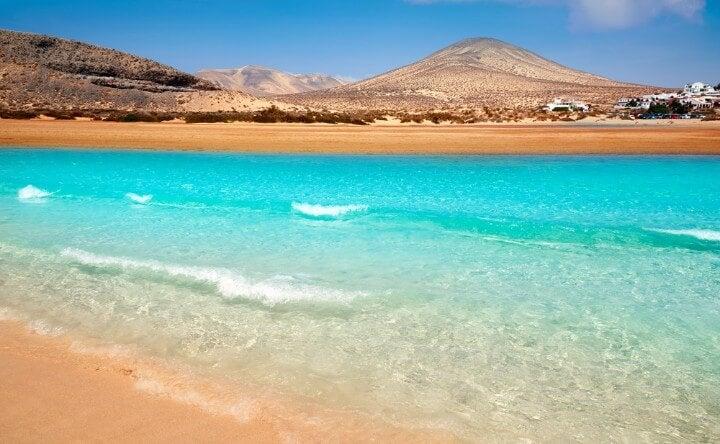 fuerteventura spiaggia turchese