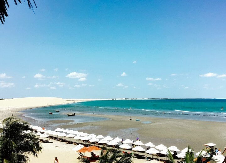 jericocoara brasile spiaggia