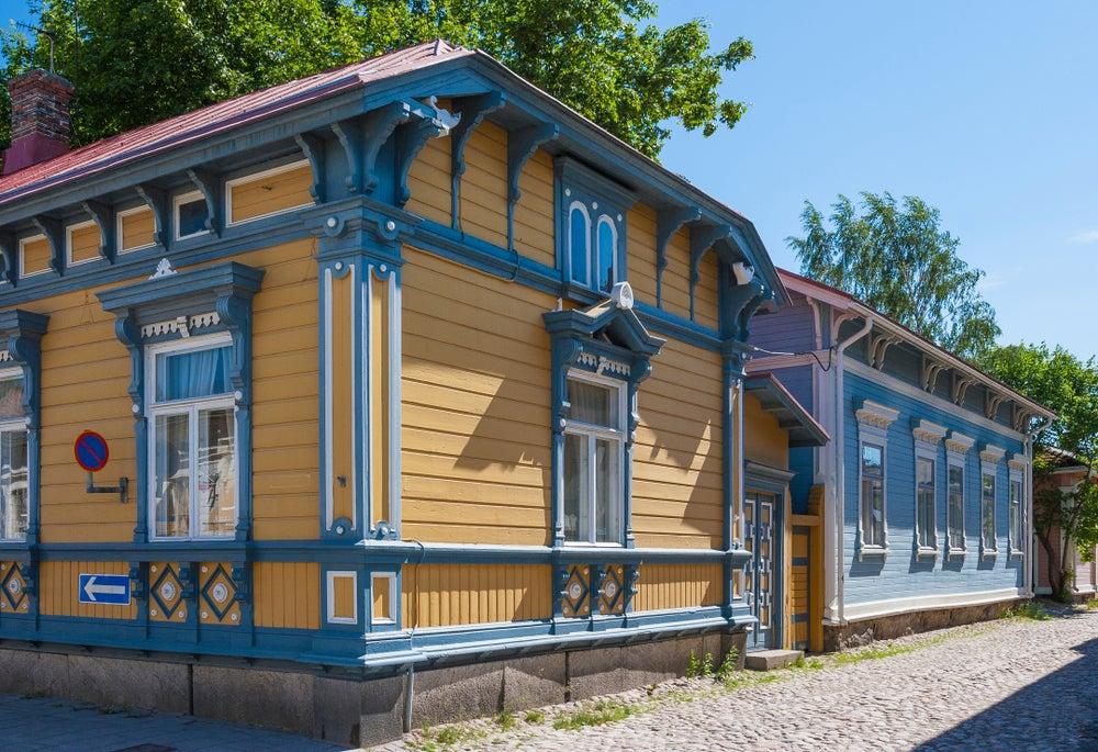 casa legno rauma finlandia