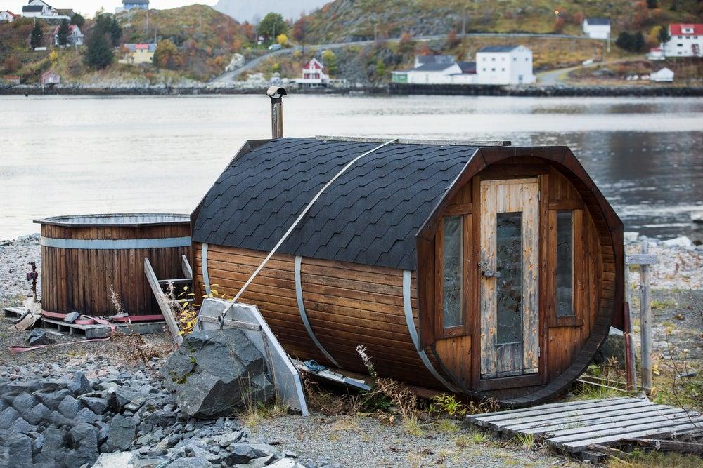 sauna legno finlandia
