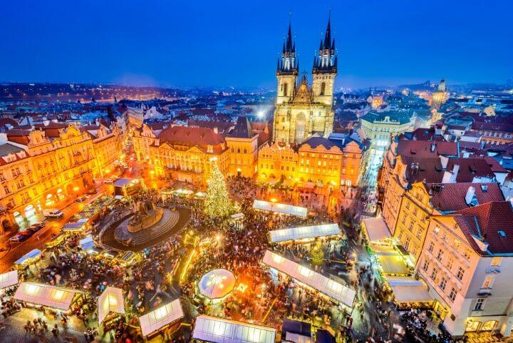 Mercatini natale a Praga