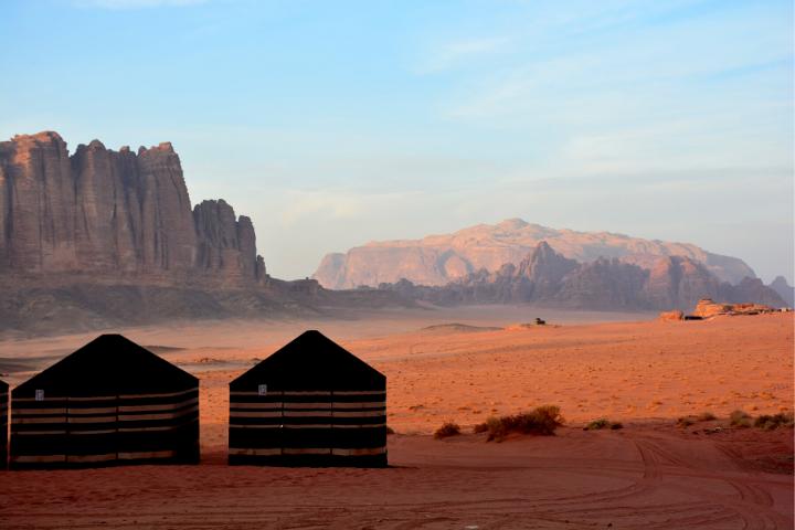 Wadi Rum desert, Giordania