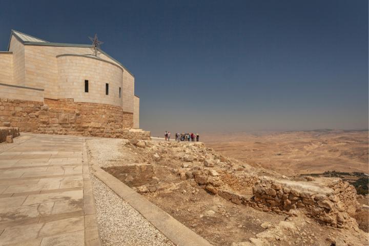 Mount Nebo, Giordania