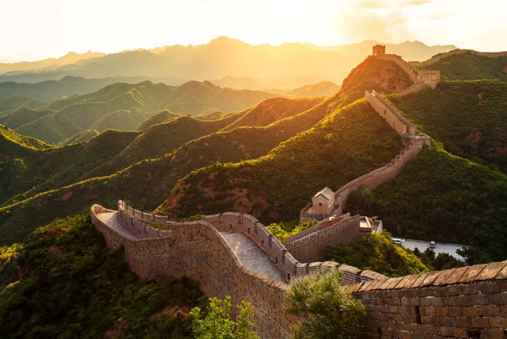 Muraglia Cinese, Cina