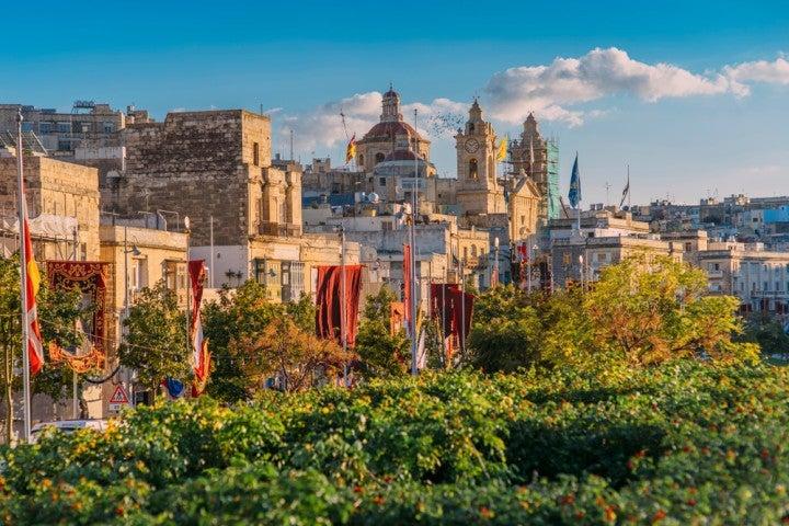 Le Tre città a Malta