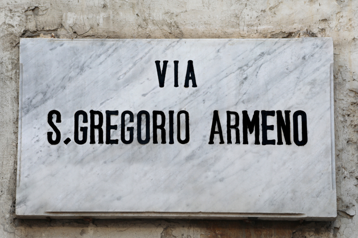 Via san Gregorio