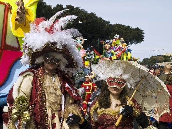 Carnevale  a Malta in inverno
