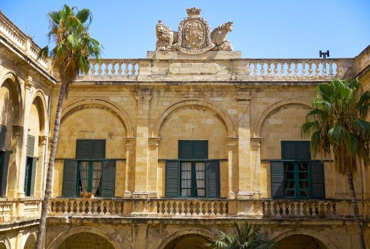 Palazzo del Gran Maestro a Malta