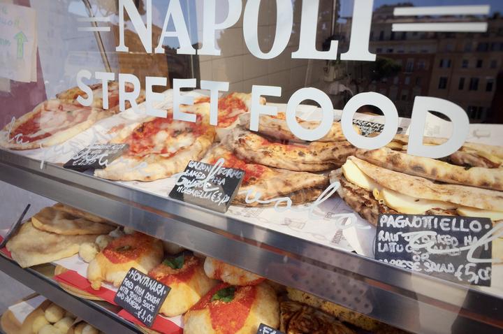 street food di Napoli