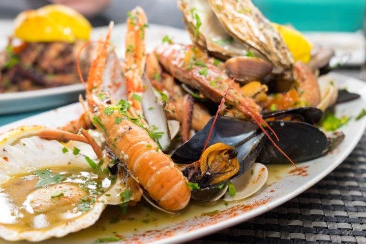 Frutti di mare, cosa mangiare a malta