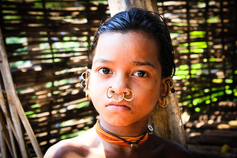 bambina Orissa
