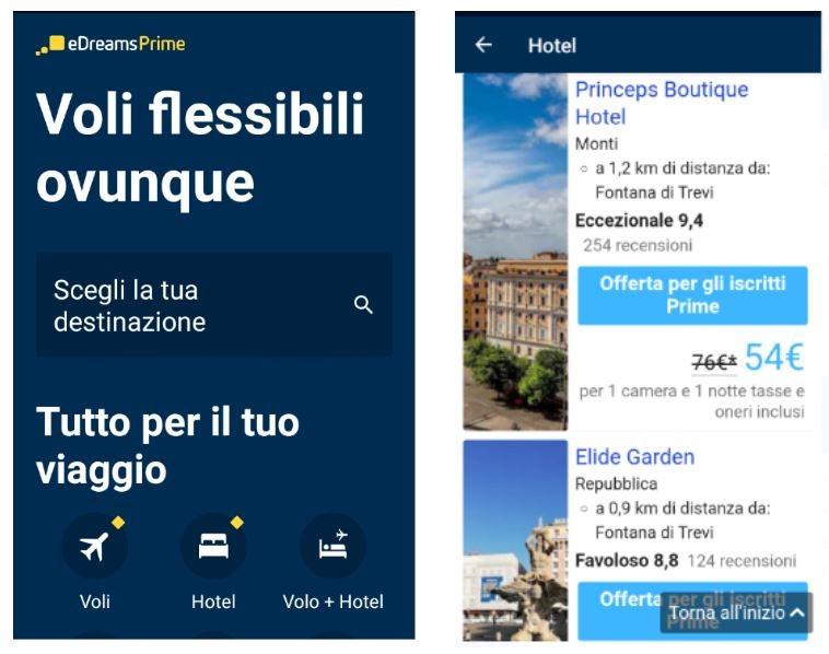 prime hotel accesso app