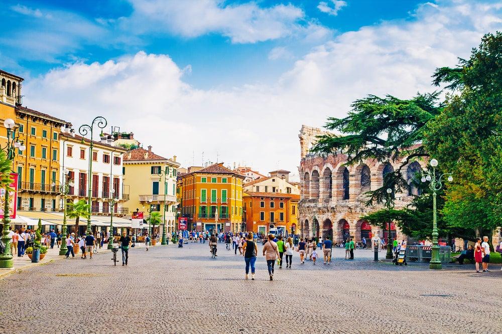 Piazza Bra Verona